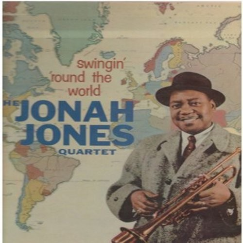 Jones, Jonah Quartet - Swingin' At The Cinema: True Love/Tammy/An Affair To Remember/Secret Love (Vinyl EP record with picture cover) - NM9/NM9 - 45 rpm Records