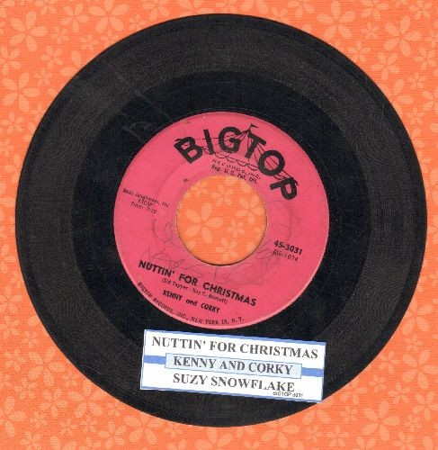 Kenny & Corky - Suzy Snowflake/Nuttin' For Christmas (with juke box label) - G5/ - 45 rpm Records