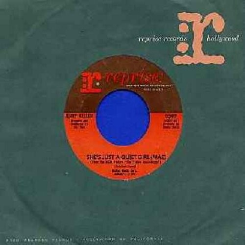 Keller, Jerry - She's Just A Quiet Girl (Mae)/The Knack (with Reprise company sleeve) - NM9/ - 45 rpm Records