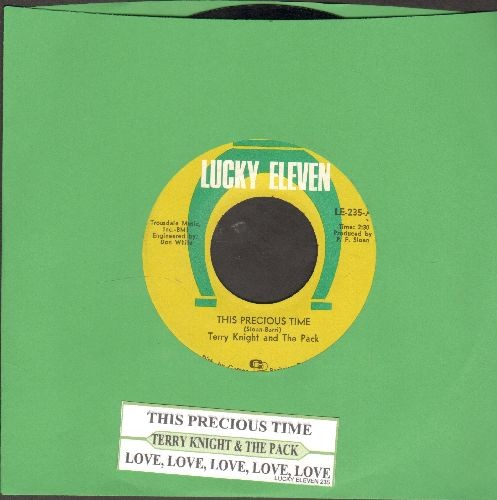 Knight, Terry & The Pack - This Precious Time/Love, Love, Love, Love, Love (with juke box label) - NM9/ - 45 rpm Records