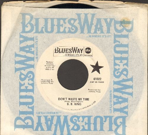 King, B. B. - Don't Waste My Time/Get Myself Somebody (with RARE Blues Way company sleeve) - NM9/ - 45 rpm Records