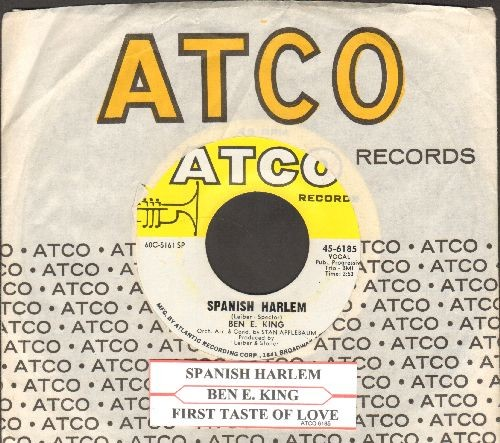 King, Ben E. - Spanish Harlem/First Taste Of Love (with Atco company sleeve and juke box label) - NM9/ - 45 rpm Records
