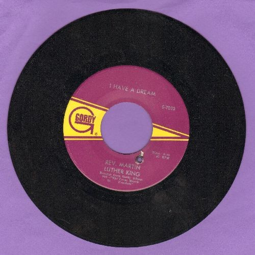 King, Dr. Martin Luther - I Have A Dream/We Shall Overcome (bb) - EX8/ - 45 rpm Records