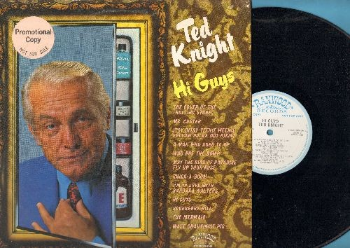 Knight, Ted - Hi Guys - Ted Knight Special DJ Interview (DJ advance pressing with RARE picture sleeve) - NM9/EX8 - 45 rpm Records