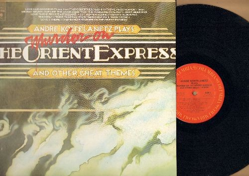 Kostelanetz, Andre - Murder On The Orient Express and other Great Themes: Airp[ort 1975, The Godfather II, Towering Inferno, Earthquake (Vinyl STEREO LP record) - NM9/EX8 - LP Records