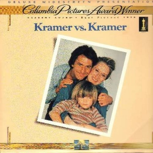 Kramer vs. Kramer - Kramer vs. Kramer - The Best Picture Oscar Winner starring Dustin Hoffman and Meryl Streep - This is a LASERDISC, NOT ANY OTHER KIND OF MEDIA! - NM9/NM9 - LaserDiscs