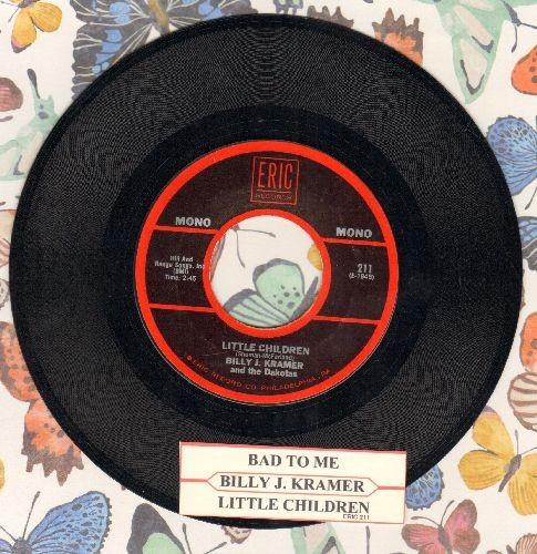 Kramer, Billy J. - Bad To Me/Little Children (re-issue with juke box label) - NM9/ - 45 rpm Records