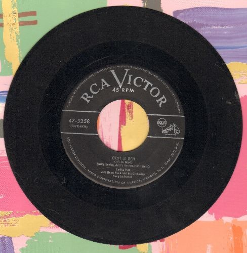 Kitt, Eartha - C'est Si Bon/African Lullaby (with juke box label) - VG7/ - 45 rpm Records