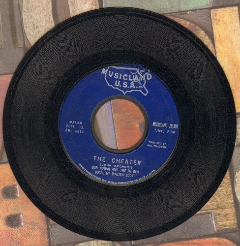 Kuban, Bob & The In-Men - The Cheater/Try Me Baby  - EX8/ - 45 rpm Records