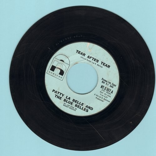 LaBelle, Patti & The Blue Belles - Tear After Tear/Go On (This Is Goodby)  - VG7/ - 45 rpm Records