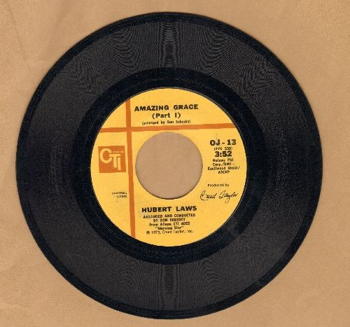 Laws, Hubert - Amazing Grace (Parts 1 + 2) - EX8/ - 45 rpm Records