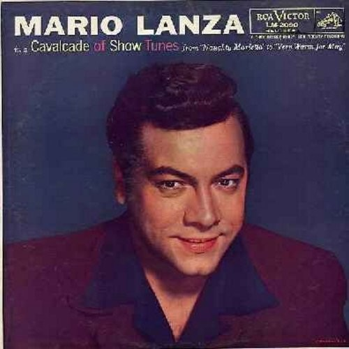 Lanza, Mario - Cavalcade Of Show Tunes: I've Told Eve'ry Little Star, Rose Marie, Only A Rose, Tramp! Tramp! Tramp! (Vinyl LP record, RED SEAL Label) - NM9/EX8 - LP Records