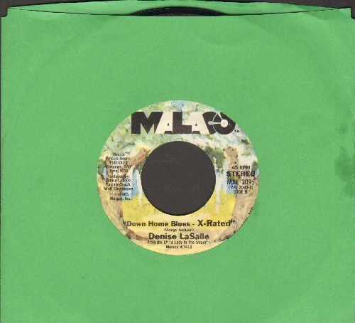 LaSalle, Denise - Down Home Blues/Down Home Blues (uncensored) - EX8/ - 45 rpm Records