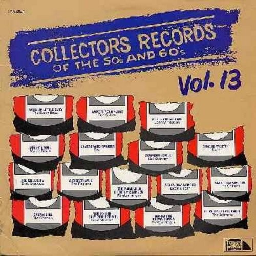 Everly Brothers, Marcie Blaine, Dion, Carlo, Chiffons, others - Collector's Records of the 50s & 60s Vol. 3: Wake Up Little Suzy, Bobby's Girl, Runaround Sue, Donna The Prima Donna, What's Your Name (Vinyl LP record, 1982 issue of original vintage recordi