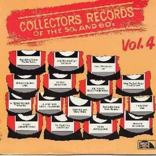 Skyliners, Carlo, Chiffons, Ernie Maresca, Curtis Lee, others - Collector's Records of the 50s and 60s Vol. 4: Lovers Who Wander, party Girl, Pretty Little Angel Eyes, Donna Lee, Lovers Who Wander (Vinyl STEREO LP record, 1979 issue of original vintage hi