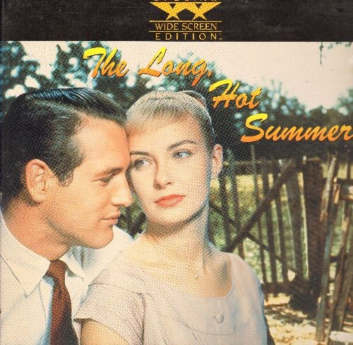 The Long, Hot Summer - The Long, Hot Summer - LASER DISC version of the  Paul Newman/Joanne Woodward Classic, Wide Screen Edition in gate-fold  cover! -