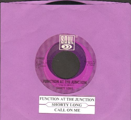 Long, Shorty - Function At The Junction/Call On Me (with juke box label) - NM9/ - 45 rpm Records