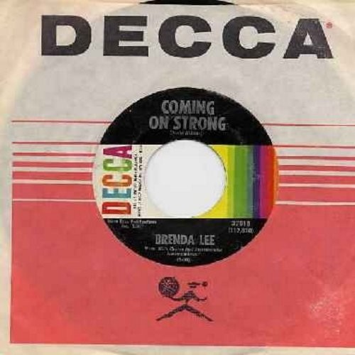 Lee, Brenda - Coming On Strong/You Keep Coming Back To Me (with original company sleeve) - NM9/ - 45 rpm Records