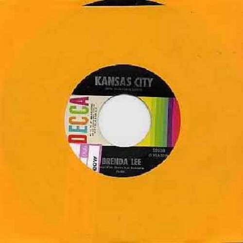 Lee, Brenda - Kansas City/Each Day Is A Rainbow (with juke box label) - EX8/ - 45 rpm Records