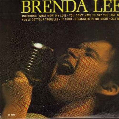 Lee, Brenda - Coming On Strong: What Now My Love, Up Tight, Strangers In The Night, Call Me, You Don't Have To Say You Love Me (Vinyl MONO LP record) - NM9/VG7 - LP Records