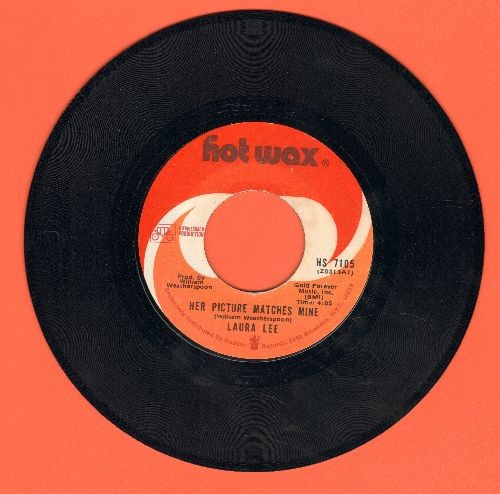 Lee, Laura - Her Picture Matches Mine/Women's Love Rights - EX8/ - 45 rpm Records