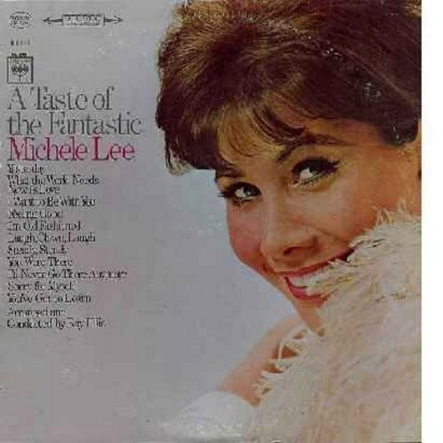 Lee, Michele - A Taste Of The Fantastic Michele Lee: Yesteray, What The World Needs Now Is Love, I'm Old Fashioned, Laugh Clown Laugh (Vinyl STEREO LP record) - EX8/EX8 - LP Records