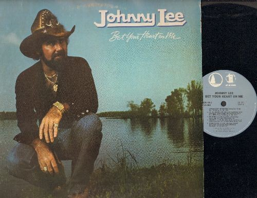 Lee, Johnny - Bet Your Heart On Me: Somebody Like You, A Little Bit Of Lovin', When You Fall In Love (vinyl STEREO LP record) - NM9/EX8 - LP Records