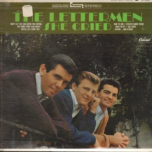 Lettermen - She Cried/For Love (with Capitol company sleeve) - NM9/ - 45 rpm Records