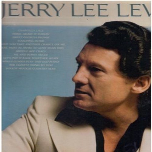 Lewis, Jerry Lee - The Best Of Jerry Lee Lewis Vol II: Chantilly Lace, Sweet Georgia Brown, Me And Bobby McGee, Middle Age Crazy (Vinyl STEREO LP record) - M10/NM9 - LP Records