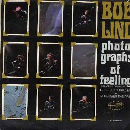 Lind, Bob - Photographs Of Feeling: I Just Let It Take Me, Remember The Rain, San Francisco Woman, West Virginia Summer Child, Go Ask Your Man (Vinyl MONO LP record) - NM9/EX8 - LP Records