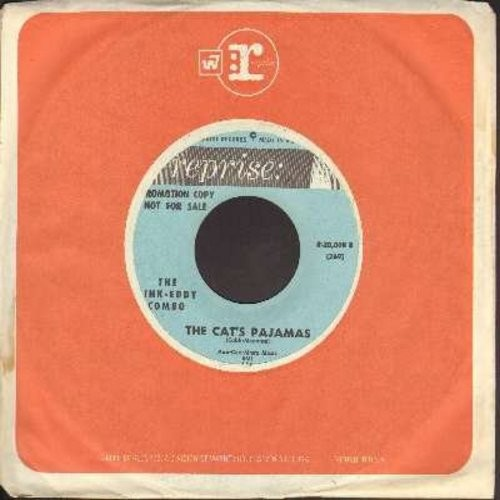 Link-Eddy Combo - The Cat's Pajamas/Katrina (DJ advance copy with vitnage Reprise company sleeve) - NM9/ - 45 rpm Records