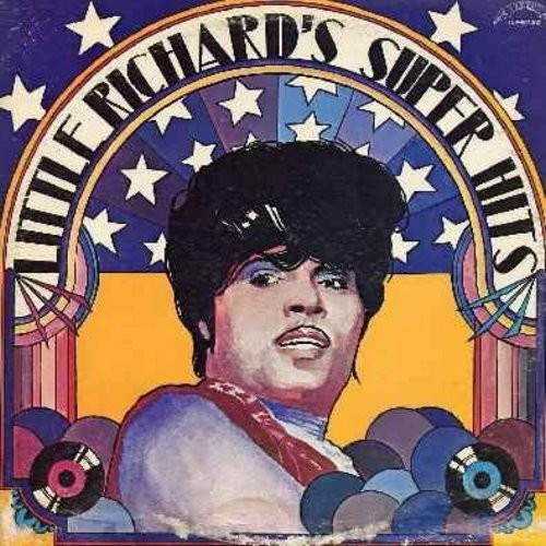 Little Richard - Little Richard's Super Hits (2 vinyl LP record set, 1970s issue): Tutti Frutti, Long Tall Sally, Good Golly Miss Molly, Baby Face, Keep A Knockin', Rip It Up, Memories Are Made Of This, Hound Dog, The Girl Can't Help It, Send Me Some Lovi