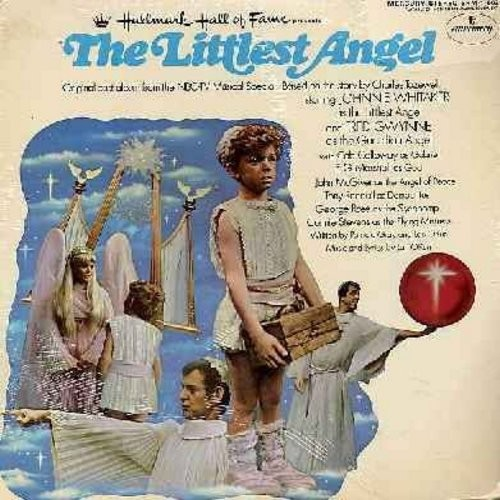 Whitaker, Johnny, Fred Gwynne, Tony Randall - The Littlest Angel: Original TV Musical Special (Vinyl LP record, SEALED, never opened! - A Wonderful Christmas Gift!) - SEALED/SEALED - LP Records