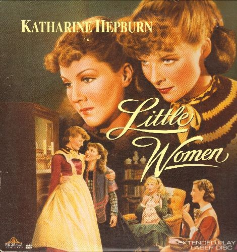 Hepburn, Katherine - Little Women - LASERDISC version of the 1933 Classic Starring Katherine Hepburn (this is a LASERDISC, not any other kind of media!) - NM9/NM9 - LaserDiscs
