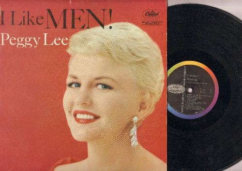 Lee, Peggy - I Like Men!: Charley My Boy, I'm Just Wild About Harry, My Man, Bill, It's So Nice To have A Man (Vinyl LP record) - EX8/EX8 - LP Records