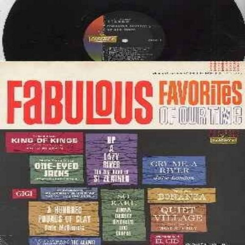 London, Julie, Gene McDaniel, Si Zentner, others - Fabulous Favorites Of Our Times: Cry Me A River, A Hundred Pounds Of Clay, Up A lazy River, Theme From Bonanza, Gigi (Vinyl STEREO LP record) - NM9/EX8 - LP Records