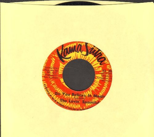 Lovin' Spoonful - Do You Believe In Magic?/On The Road Again  - EX8/ - 45 rpm Records