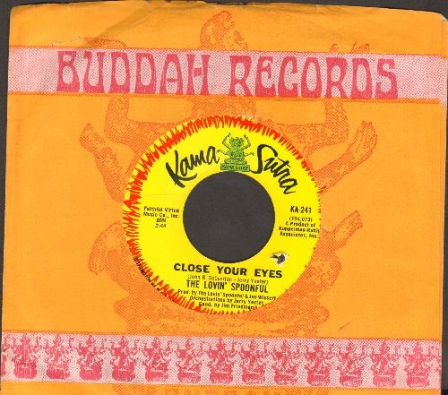 Lovin' Spoonful - Close Your Eyes/Money (with company sleeve, bb) - NM9/ - 45 rpm Records