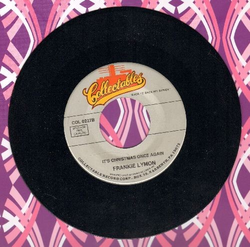 Lymon, Frankie - It's Christmas Once Again/Little Girl (re-issue) - NM9/ - 45 rpm Records