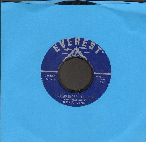Lynne, Gloria - Recommended To Love/Gypsy Boy - NM9/ - 45 rpm Records