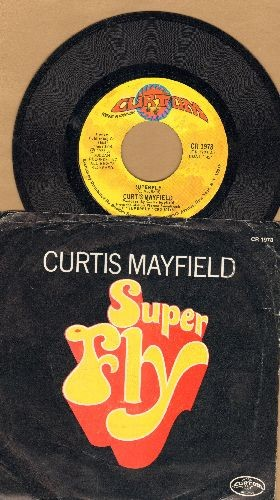 Mayfield, Curtis - Superfly/Love To Keep You In My Mind - EX8/EX8 - 45 rpm Records