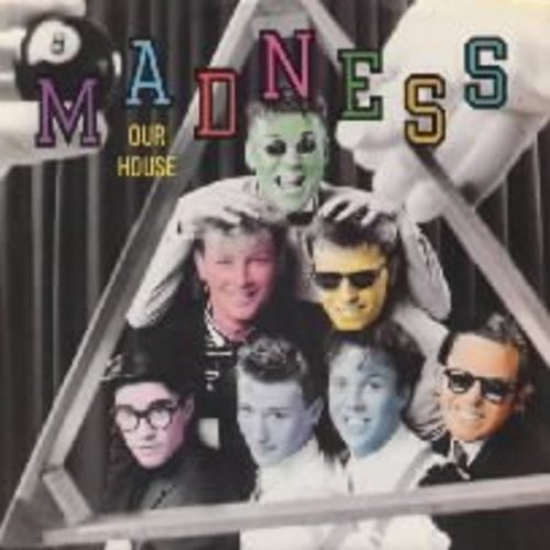 Madness - Our House/Cardiac Arrest (with picture sleeve) - EX8/VG7 - 45 rpm Records