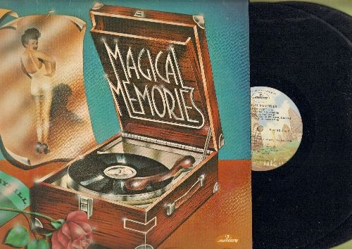 Brewer, Brewer, Louis Armstrong, Sarah Vaughan, others - Magical Moments: Music! Music! Music!, Broken Hearted Melodie, Misirlou, Mame (2 vinyl LP records, re-issue of vintage recodings) - NM9/NM9 - LP Records