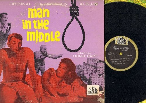 Man In The Middle - Man In The Middle: Original Soundtrack Album (Vinyl MONO LP record) - NM9/VG6 - LP Records