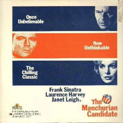 Manchurian Candidate - The Manchurian Candidate - The The Classic 1962 Thriller starring Frank Sinatra, Lawrence Harvey and Angela Lansbury - THIS IS A SET OF 2 LASERDISCS, NOT ANY OTHER KIND OF MEDIA! - NM9/EX8 - LaserDiscs