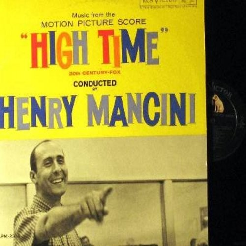 Mancini, Henry - High Time - Music From The Motion Picture Score: Moon Talk, The Nutty Professor, The Old College Cha-Cha, The Dean Speaks, Tiger! (Vinyl MONO LP record) - NM9/NM9 - LP Records