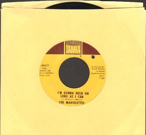 Marvelettes - I'm Gonna Hold On Long As I Can/Don't Make Hurting Me A Habit (bb) - VG7/ - 45 rpm Records
