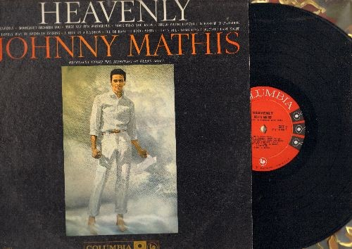 Mathis, Johnny - Heavenly: Moonlight Becomes You, They Say It's Wonderful, Hello Young Lovers, Stranger In Paradise, Misty, That's All (Vinyl MONO LP record) - NM9/EX8 - LP Records