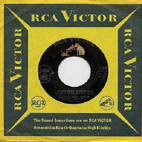 March, Little Peggy - I Wish I Were A Princess/My Teenage Castle (with RCA company sleeve) - EX8/ - 45 rpm Records