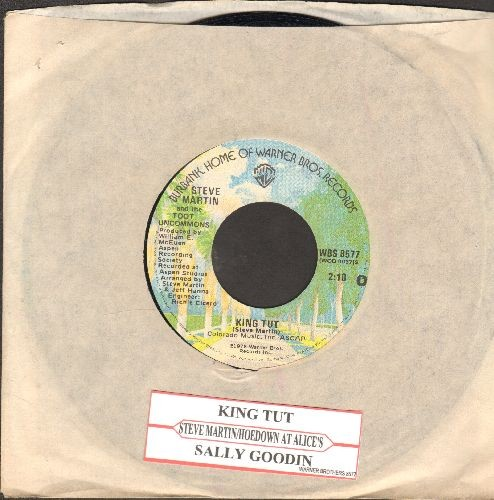 Martin, Steve - King Tut/Sally Goodin (with juke box label and company sleeve) - EX8/ - 45 rpm Records